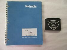 TEKTRONIX TYPE 323 OSCILLOSCOPE SERVICE INSTRUCTION MANUAL 070-0750-00