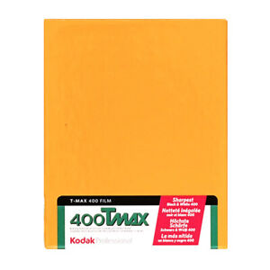 Kodak T-Max 400 4x5 Sheet Film - 10 Sheets - FLAT-RATE AU SHIPPING!