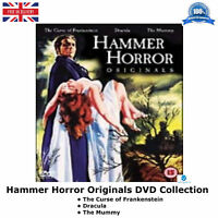Hammer Horror Originals - The Curse of Frankenstein, Dracula, The Mummy New DVD