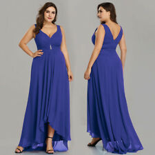 Ever-Pretty US Plus Size High-low Dress Prom Long Cocktail Evening Gowns 09983