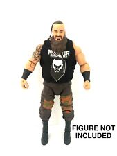 WWE Braun Strowman 'Monster Among Us' Custom Shirt For Mattel Figures.