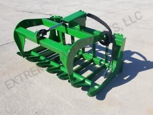 John Deere Compact Tractor 48 Root Grapple Bucket--100% USA COMPONENTS