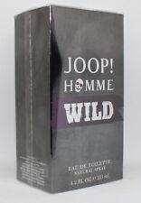 Joop Homme Wild 125 ml Eau de Toilette Spray EDT für Herren 125ml NEU