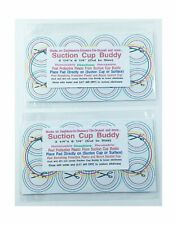 2-Pak Make Any Suction Cup Work Better with Suction Cup Buddy (Cut to Size) 3...
