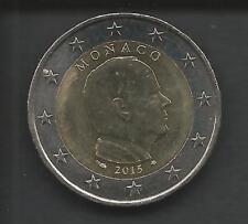 Principato di Monaco, 2 Euro Principe Alberto anno 2015.