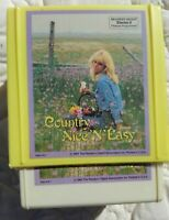 Reader's Digest Country 'N' Easy, Tape 1 - 3.   8-Track Tapes SHRINK 1984