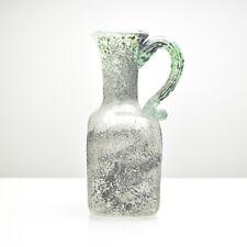 Mid Century Murano A Scavo Vase / Jug Cenedese or Seguso Studio Art Glass