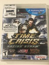 Brand New Time Crisis: Razing Storm (Sony Playstation 3) Sealed
