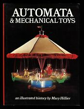 AUTOMATA & MECHANICAL TOYS book by Mary Hillier 1st Edition 1976 Jupiter Books