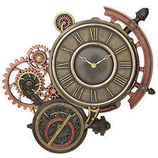 Steampunk Astrolabe Wall clock home decor Collection Art Work