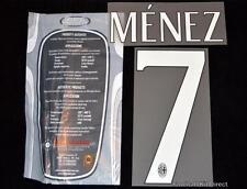AC milan Menez 7 Football Shirt Name/Number Set Kit Home Serie a 2015/16