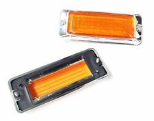 MAZDA RX3 808 10A 12A S124A REAR SIDE 1/4 REFLECTOR REFLECTORS ORANGE LENS