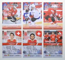 2020 BY cards IIHF U20 World Championship Team Switzerland Pick a Player Card
