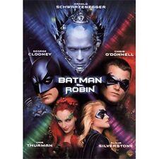 Batman & Robin (DVD, 2008) NEW Arnold Schwarzenegger George Clooney Uma Thurman