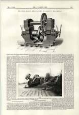 1890 Platt Boulon et Rivet Machine à forger Boxley Hill TRACTION ENGINE accident