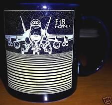 Military F-18 Hornet 1988 Blackbird Ceramic Mug NICE!