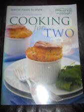 Secondhand Australian Women's Weekly Cooking for Two Cookbook Magazine
