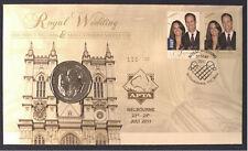 2011 Unc 50c Royal Wedding PNC APTA OVERPRINT NUMBER: 129 ONLY 150 MADE
