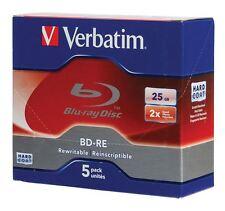 Verbatim Blu-ray BD-RE discos regrabables