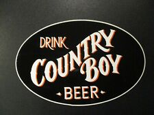 COUNTRY BOY BREWING Cougar Bait Shotgun drink STICKER decal craft beer brewery