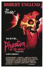 THE PHANTOM OF THE OPERA - 27x41 Original Movie Poster One Sheet Robert Englund