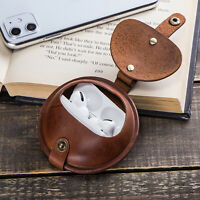 Leather Protective Case Cover Earphone Storage Box for Airpods Pro Headphone New