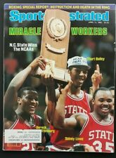 Sports Illustrated 1983 NC STATE NCAA CHAMPS MIRACLE WORKERS T. BAILEY