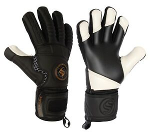 Supersave Contact White Finger Tips Pro Negative Cut Goalkeeper Gloves **OFFER**