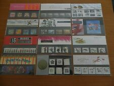 2001 YEAR SET OF 12 PRESENTATION PACKS (Nos 319 to 328+M05+M06)IN MINT CONDITION