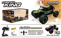 1:16 2.4G RC Monster MUSCLE Buggy High Speed Remote-Control Off-Road Car RTR Toy