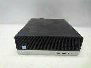 HP ProDesk 400 G6 SFF 3.0GHz Core i5 128GB NVME 8GB RAM Window 10 Pro Grade B