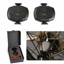 Speed & Cadence Sensor Set Wireless Ant+ For Garmin Edge 25 510 520 810 820 1000
