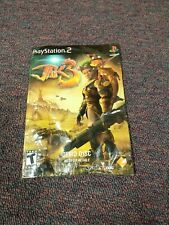 Jak 3 Sony Playstation 2 Ps2 DEMO disc-(Brand New)