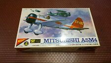 Nichimo Japan Mitsubishi A5M4 Airplane Model Kit 1/72