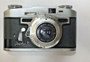 Graflex Graphic 35mm camera