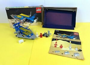 LEGO Classic Space Cruiser 924 Box Instructions and Inner Cardboard Tray