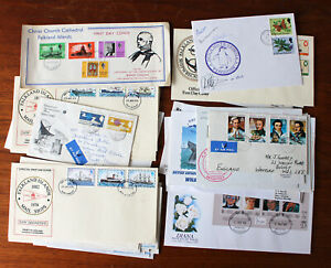 Falkland Islands. Selection of covers. Some Dependencies & Antarctic Territory.