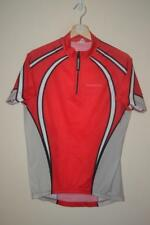 RETRO NAKAMURA RED CYCLING JERSEY MENS SIZE LARGE
