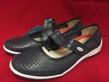CC Resorts Women's Mary Jane Shoes Size 39 Fits Like 9 R2 Navy Blue New In Box