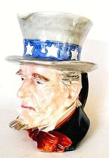 VINTAGE 1934 ROYAl WINTON GRIMWADES UNCLE SAM PITCHER