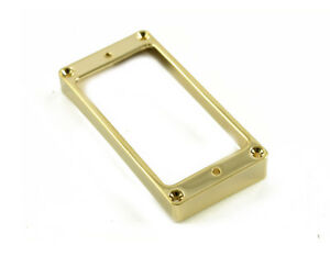 METAL HUMBUCKER RING HIGH CURVED - GOLD