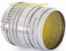 Leica Yellow 2 Leitz XOORU Filter for SUMMARIT 1:1.5 f=5cm / LEITZ Xenon Bayonet