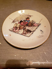 """New listing 1975 Norman Rockwell Limited Edition Gorham Summer - Fisherman's Parade,10 3/4"""""""