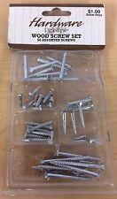 Wood Screw Set - 50 Assorted Screws
