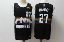 Denver Nuggets Jamal Murray #27 men's  navy stitched jersey S-2XL