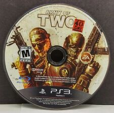 Army of Two: The 40th Day (Sony PlayStation 3, 2010)(DISC ONLY) #7623