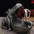 Hippopotamus Statue Decoration Resin Artware Sculpture Statue Home Decoraodu*h4