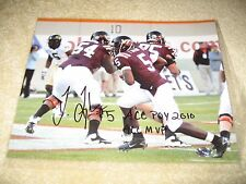 Tyrod Taylor ACC POY 2010 ACC MVP Virginia Tech Hokies Signed 8x10 - Browns