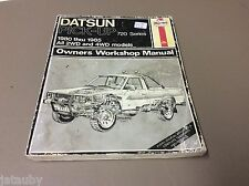 DATSUN PICK-UP HAYNES OWNERS WORKSHOP MANUAL 1980 THRU 1985