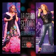 Jenni Rivera La Gran Senora En Vivo Con Banda Mariachi CD+DVD New sealed Nuevo